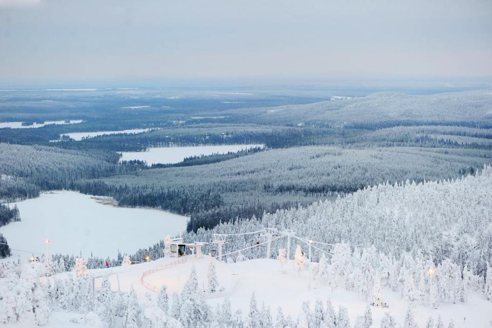La Laponie , La rudesse du climat , Finlande