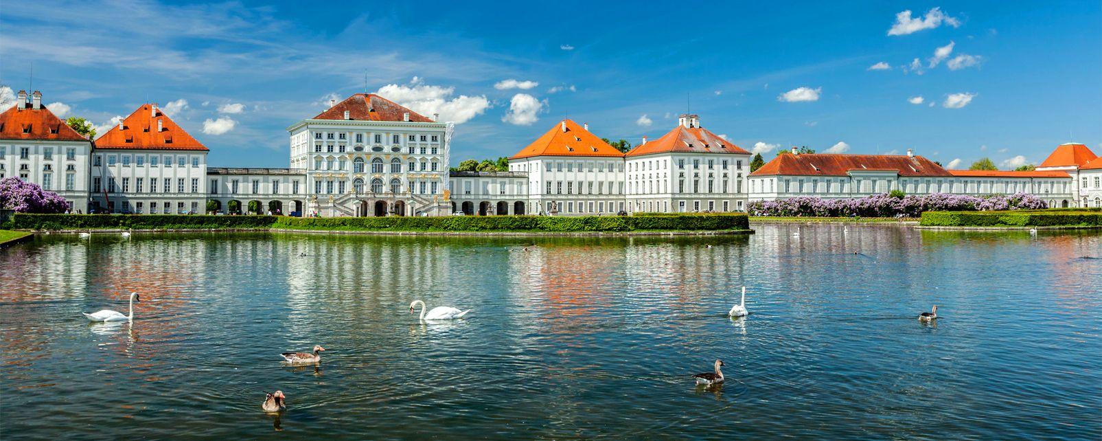 Das Nymphenburger Schloss, Die Monumente, Deutschland