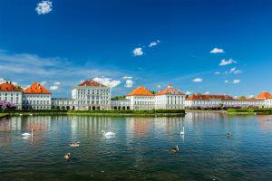 Les monuments, Château de Nymphenburg château Nymphenburg Munich Allemagne