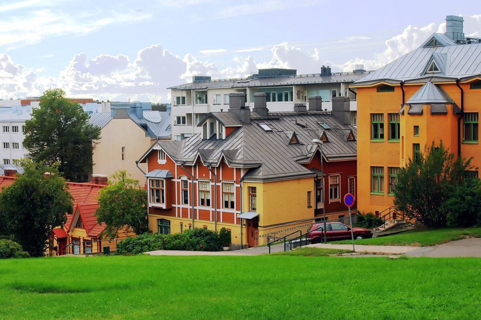 Die Architektur  , Eine außergewöhnliche Architektur , Finnland