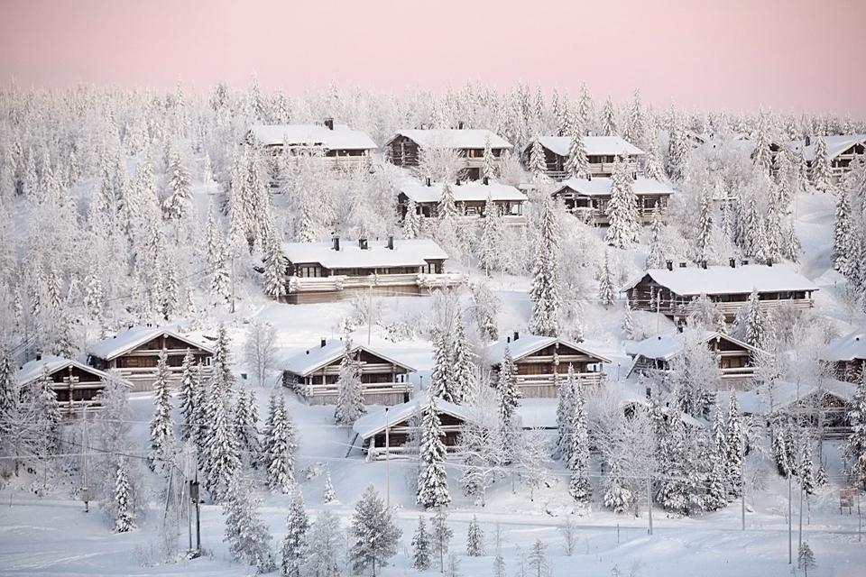 Die Architektur  , Holz , das Markenzeichen des finnischen Baust , Finnland