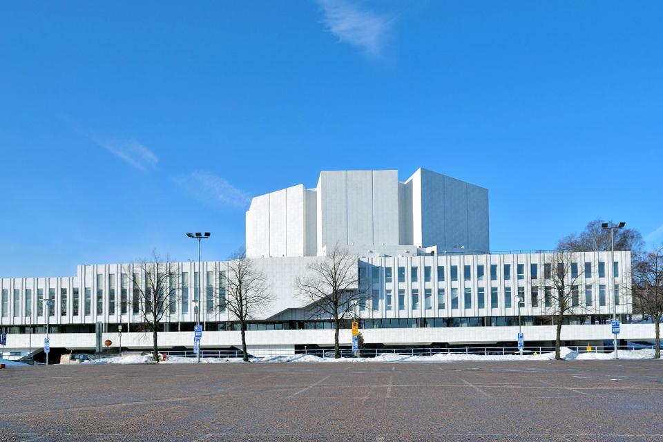Die Architektur  , Der Finlandia-Palast , Finnland