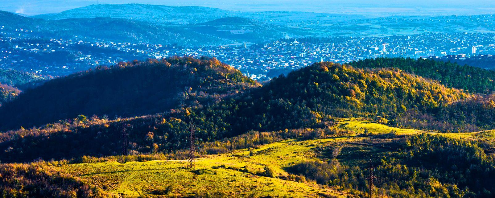 Il Parco nazionale di Sataplia , Georgia