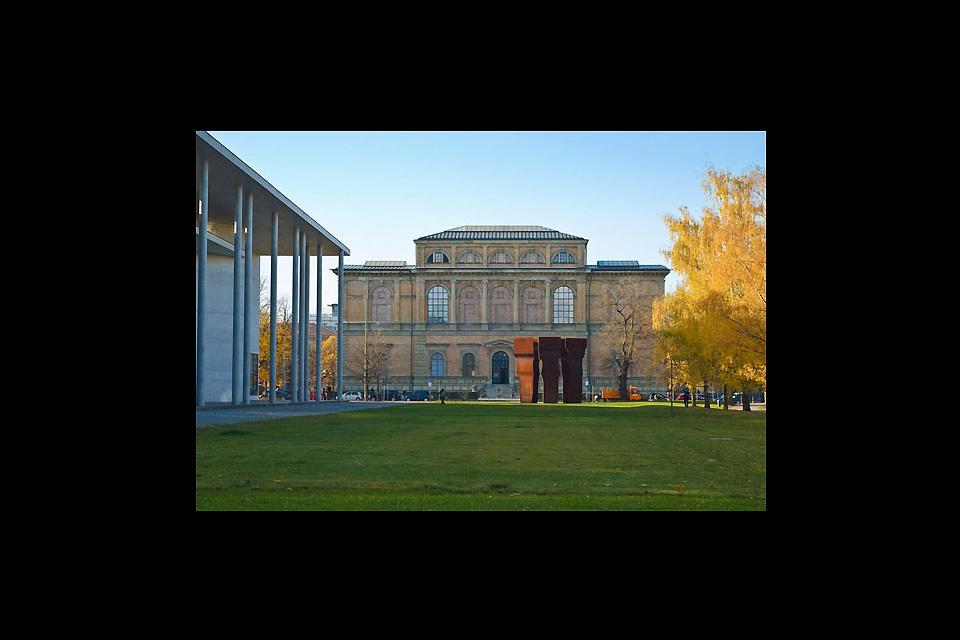 L'antica Pinacoteca (Alte Pinakothek) , La Alte Pinakothek , Germania