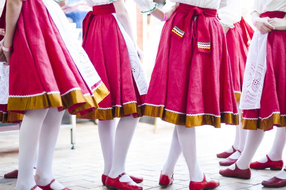 Der Tanz , Der traditionelle Tanz , Georgien