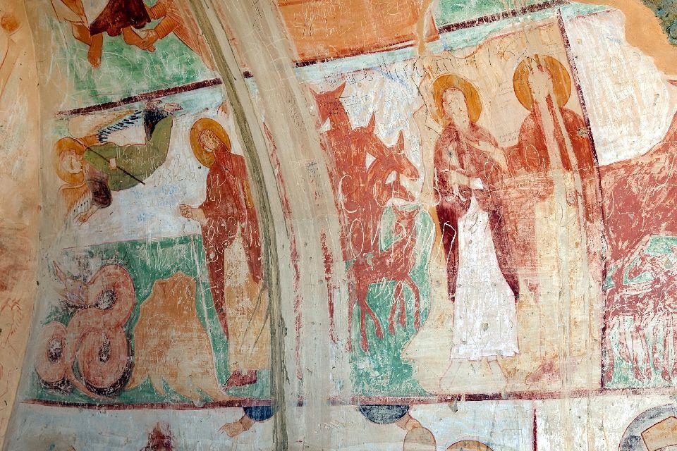 Die Fresken , Georgien