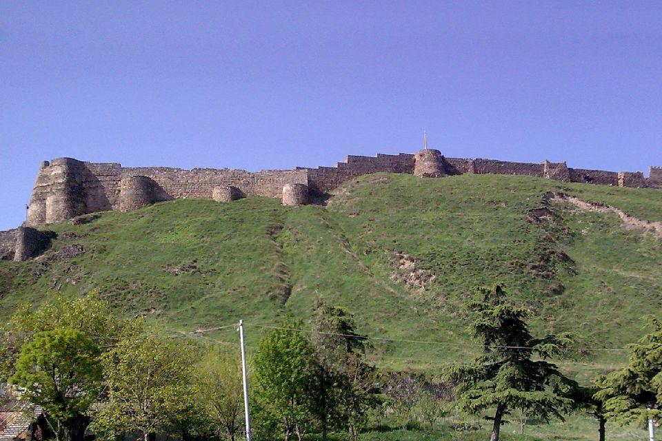 Die Festung Goristsiche , Georgien