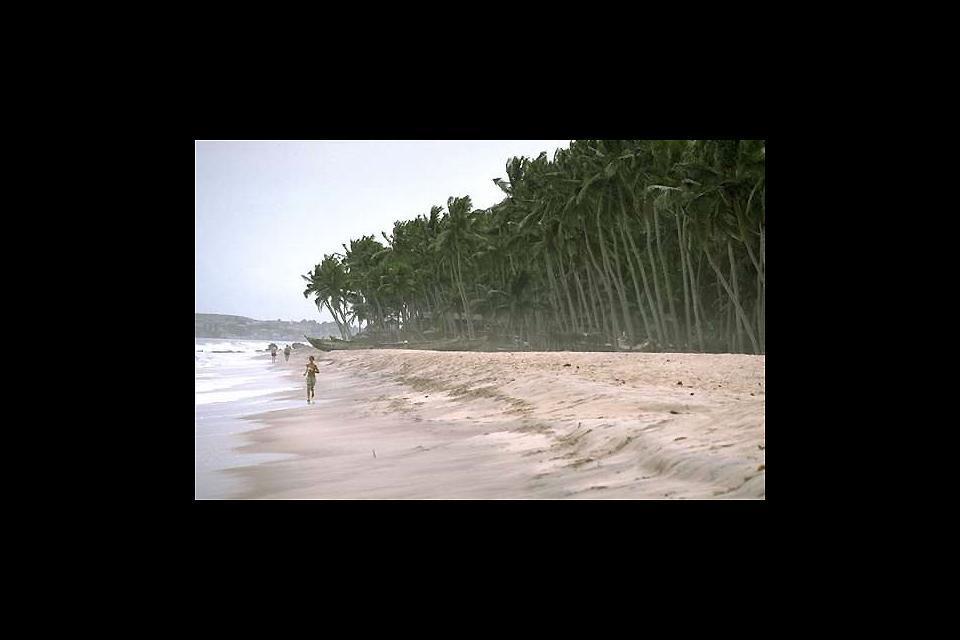 Les sites balnéaires , Ghana