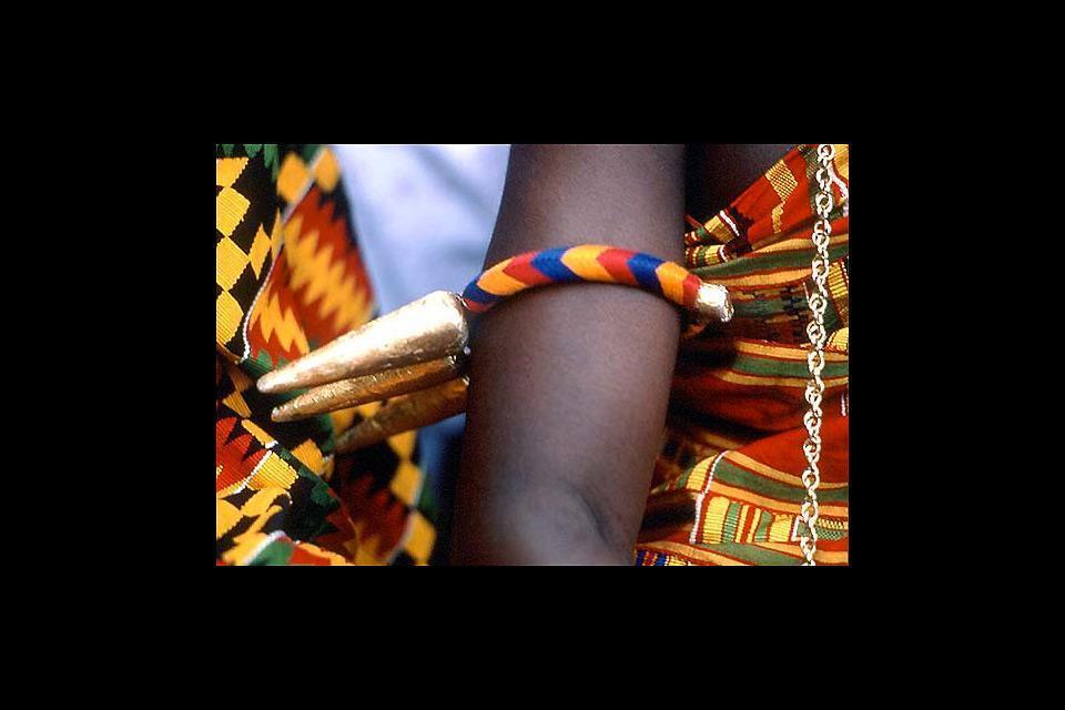 La artesanía ashanti , Ghana