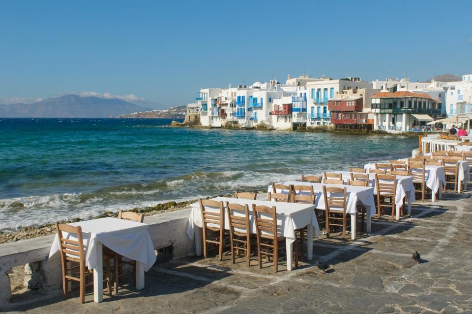 Les Cyclades , La ville de Mykonos , Grèce
