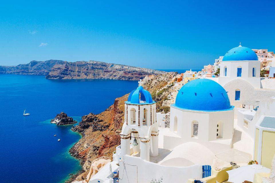 Santorin , Petit paradis grec , Grèce