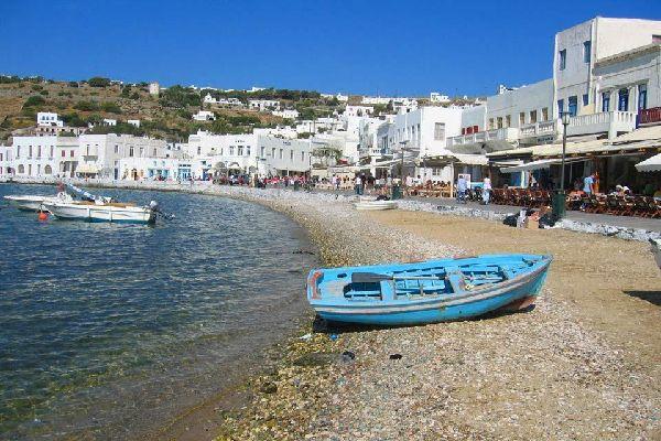 Mykonos , Le bord de mer de Mykonos , Grèce