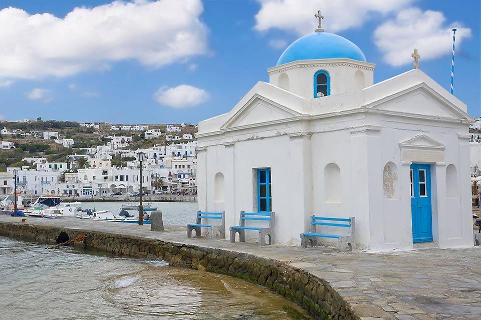 Mykonos , Les chapelles de Mykonos , Grèce