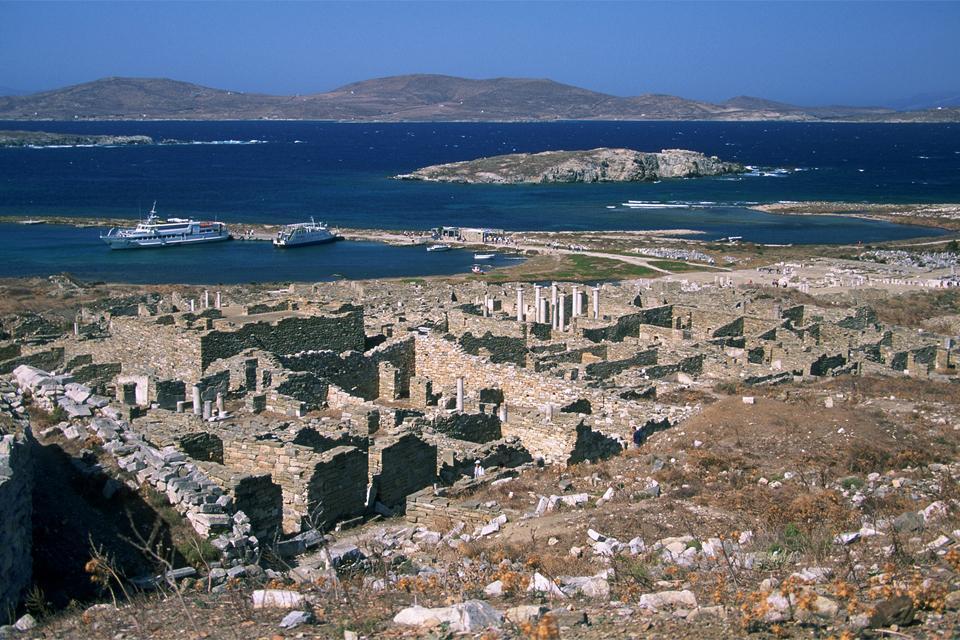 Délos , L'île aux surnoms , Grèce