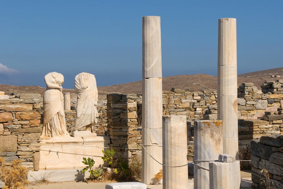Délos , Vestiges du passé , Grèce