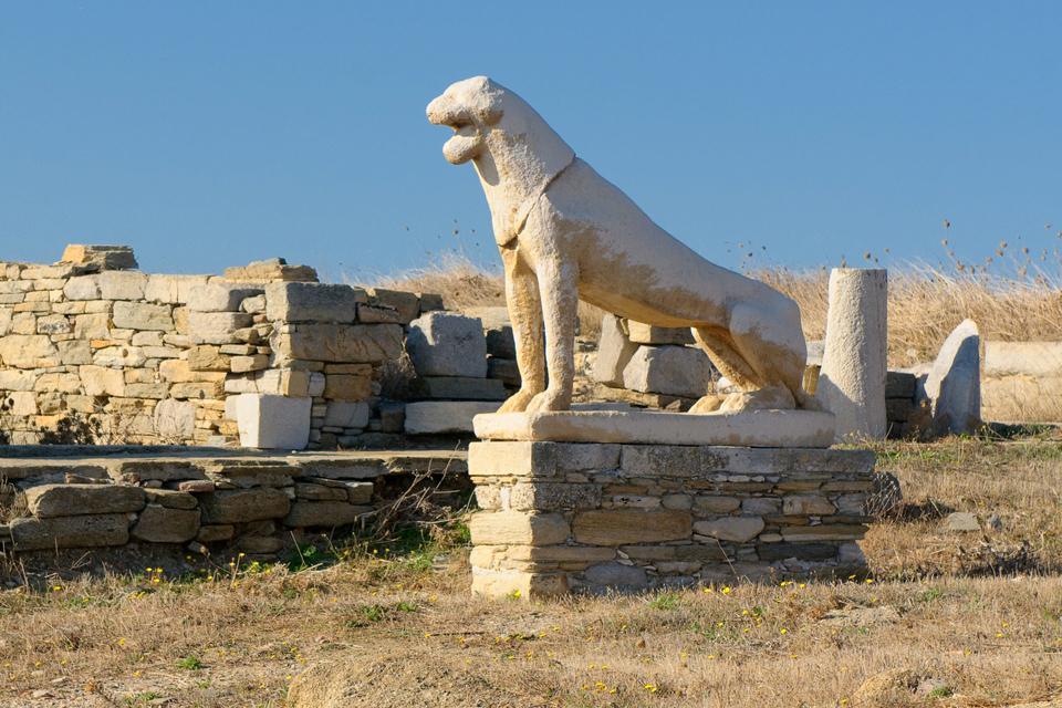 Délos , Surveillance 24h/24 , Grèce