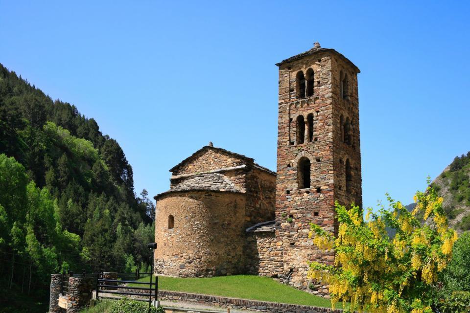 The churches , A church , Andorra