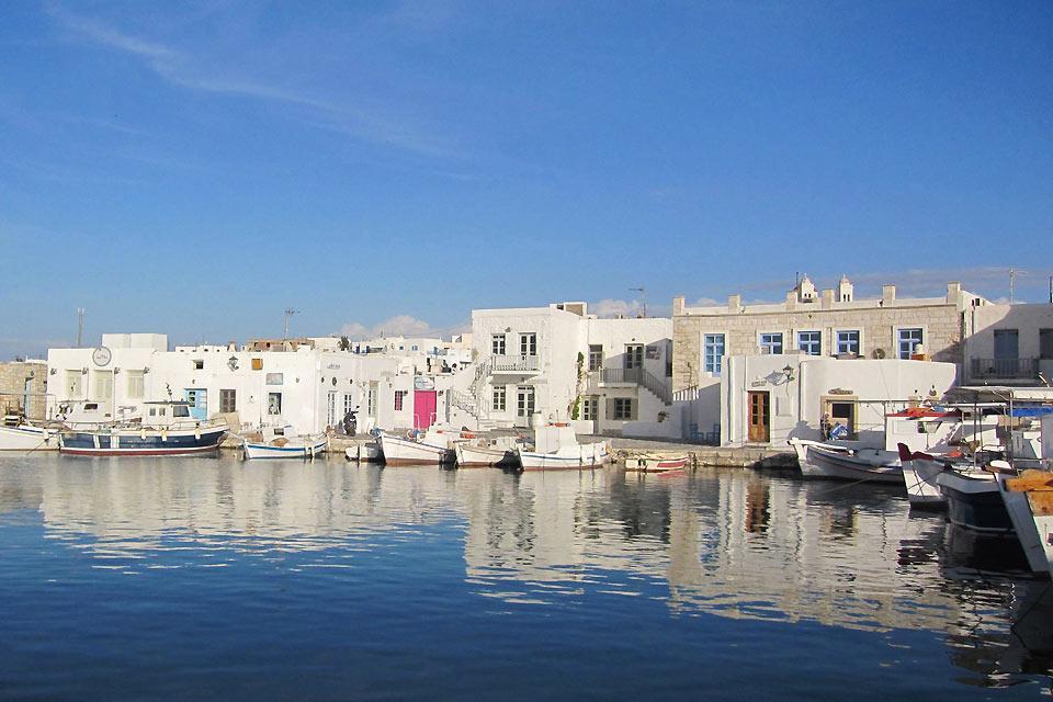 Paros , Ressources maritimes , Grèce