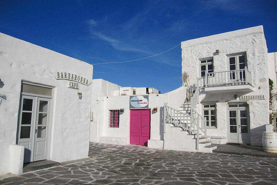 Paros , Les ruelles de Parikia , Grèce