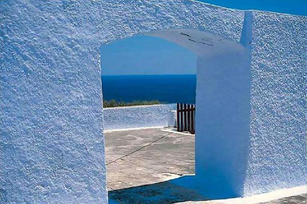 Folégandros et les autres , L'architecture cycladique , Grèce