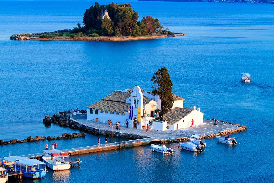 Les îles Ioniennes , Les îles ioniennes , Grèce