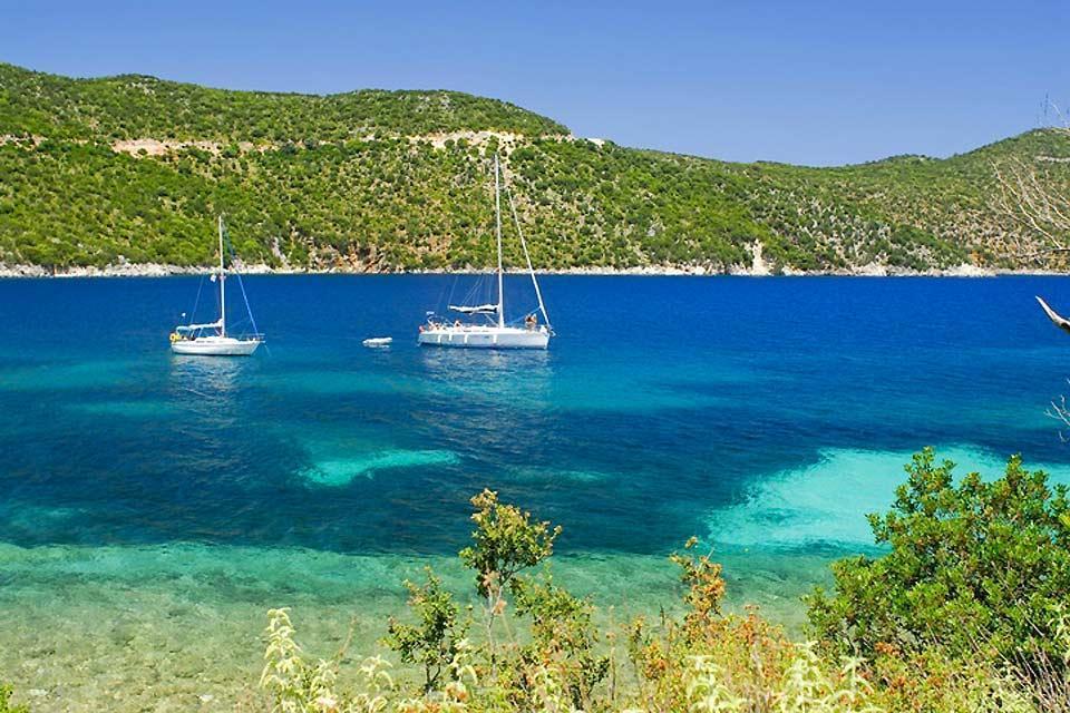 Les îles Ioniennes , Kefalonia , Grèce
