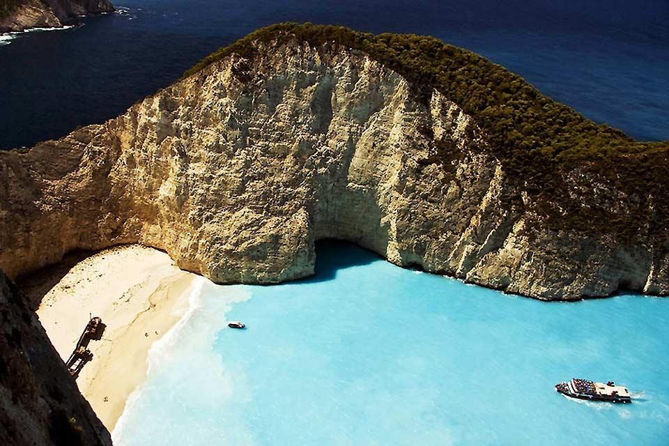Les îles Ioniennes , L'île de Zante , Grèce