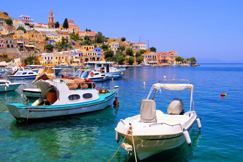 Les îles du Dodécanèse , Grèce