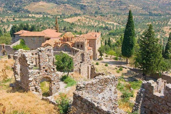 Le monastère byzantin de Néa Moni (Chios) , Un secret bien gardé , Grèce
