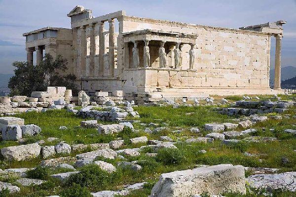 Ática , Las ruinas de la Acrópolis , Grecia