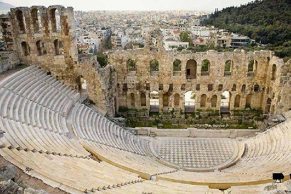 Ática , El teatro de Herodes Atticus , Grecia