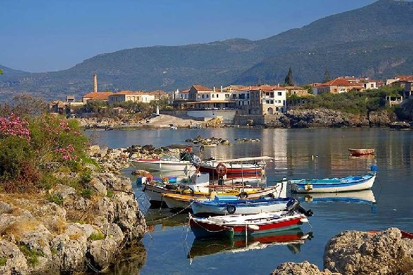Le Péloponnèse , Kardamyli , Grèce