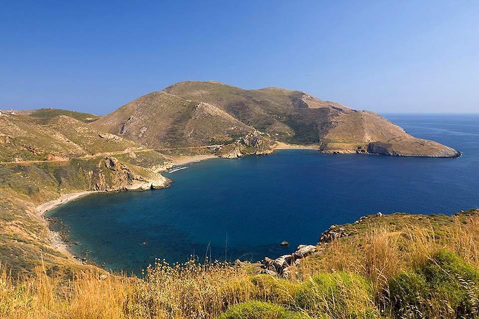 Le Péloponnèse , La baie de Marmari , Grèce