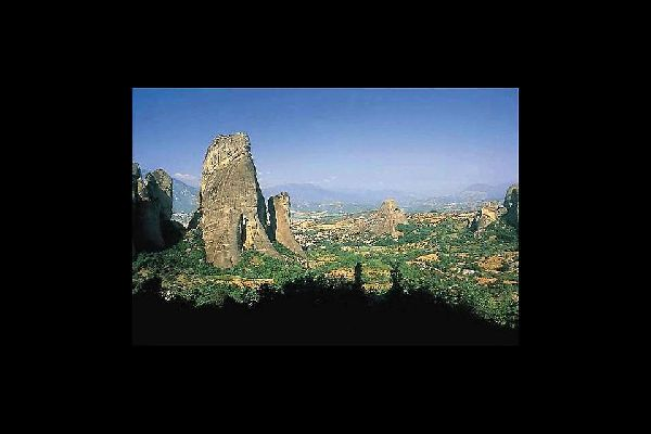 Epirus , Von Felsen geprägte Region Epirus , Griechenland