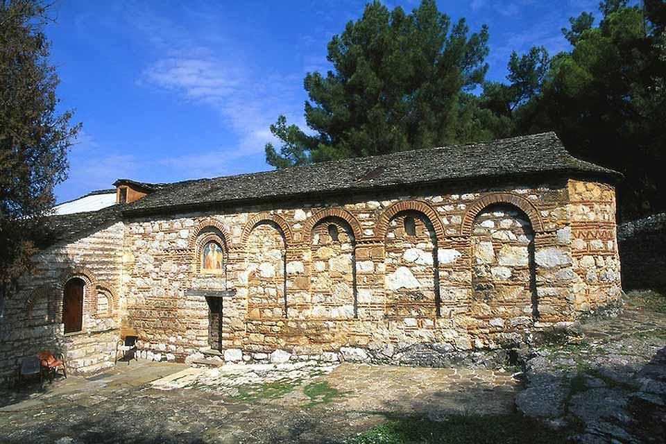Epirus , The Philantropinos Monastery , Greece