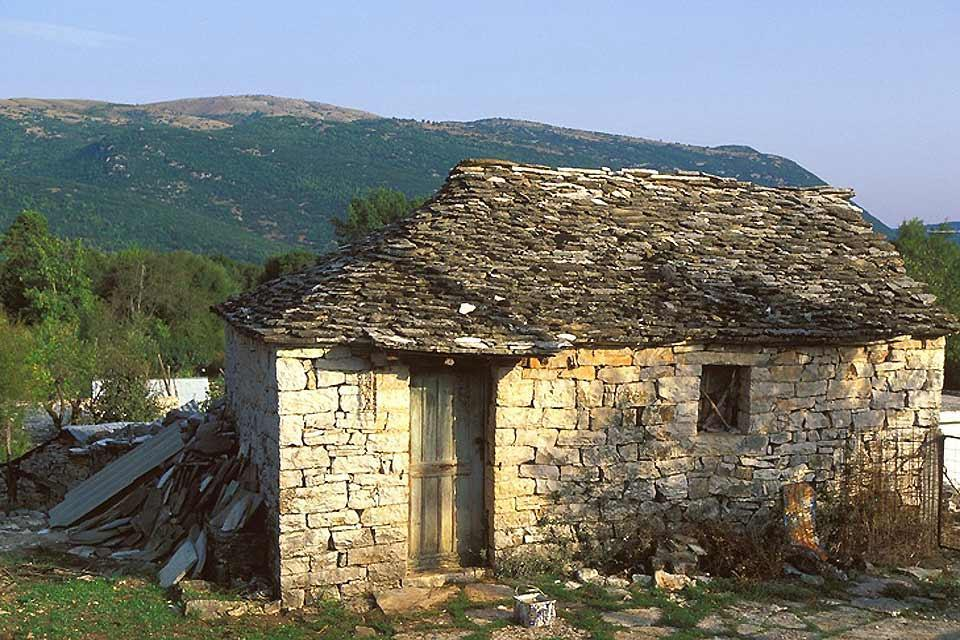 Epirus , The island of Nissaki , Greece