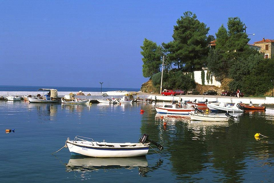 Thessaly , Afissos harbour , Greece