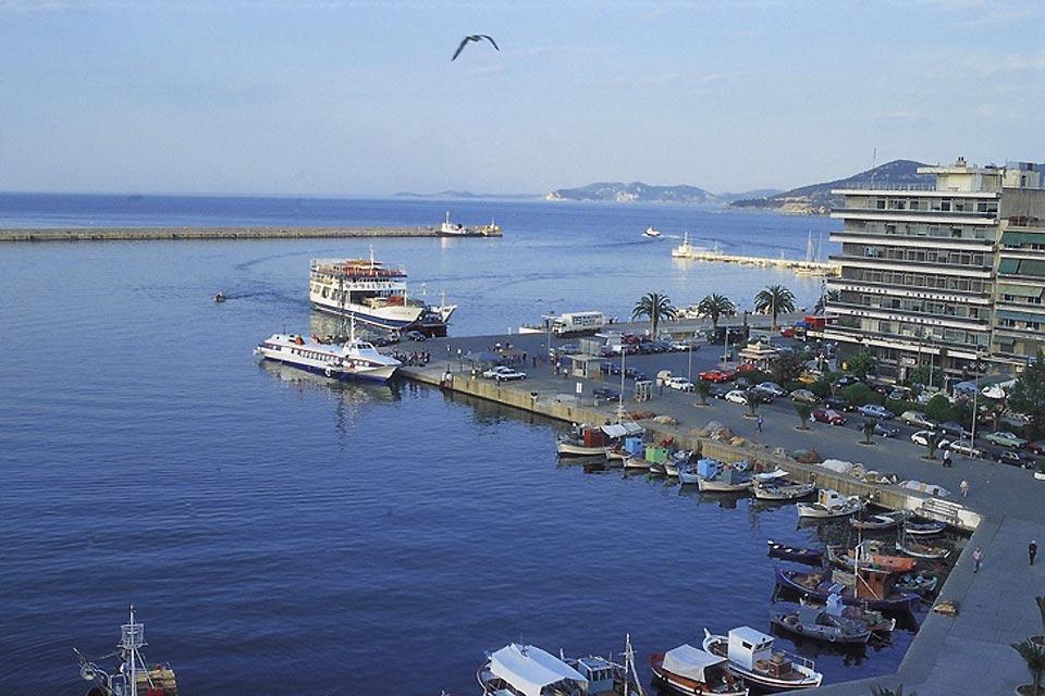 La Macédoine et la Chalcidique , Un port de Macédoine , Grèce