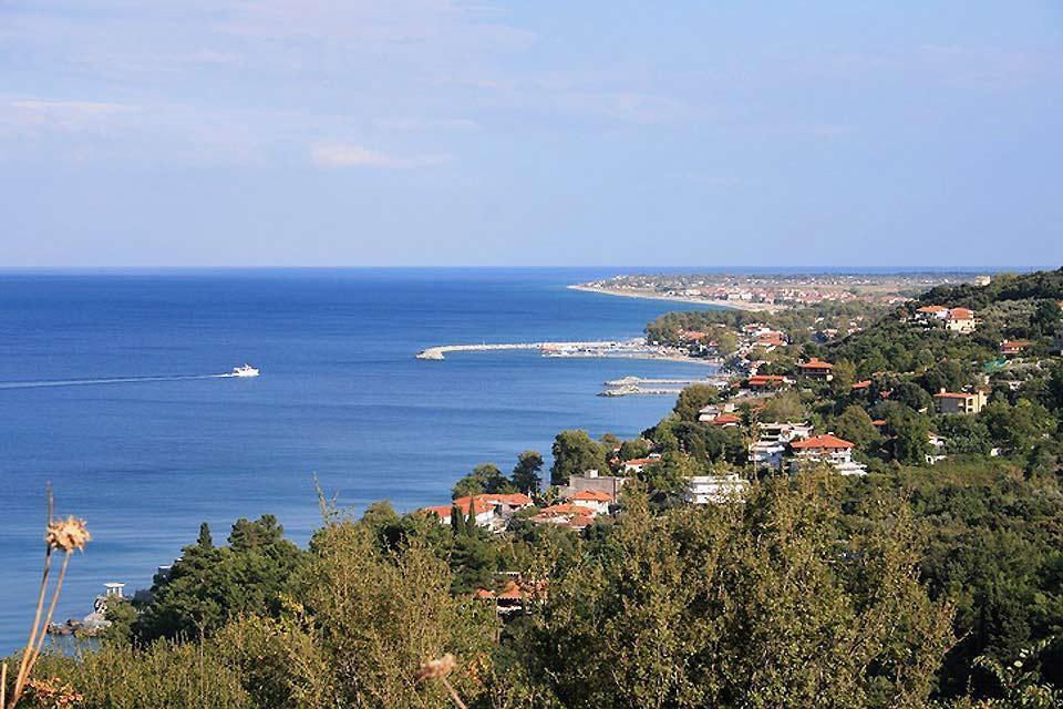 La Macédoine et la Chalcidique , La côte de la mer Egée , Grèce
