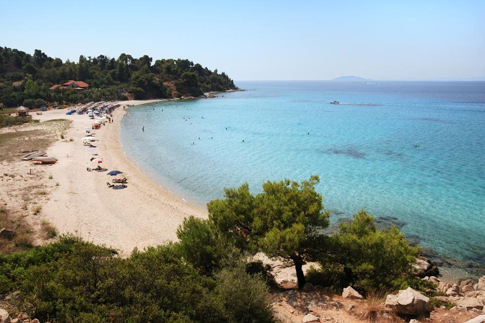La Macédoine et la Chalcidique , Les plages de Sithonia , Grèce