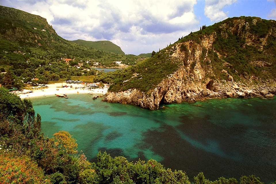 Las islas , Corfú , Grecia