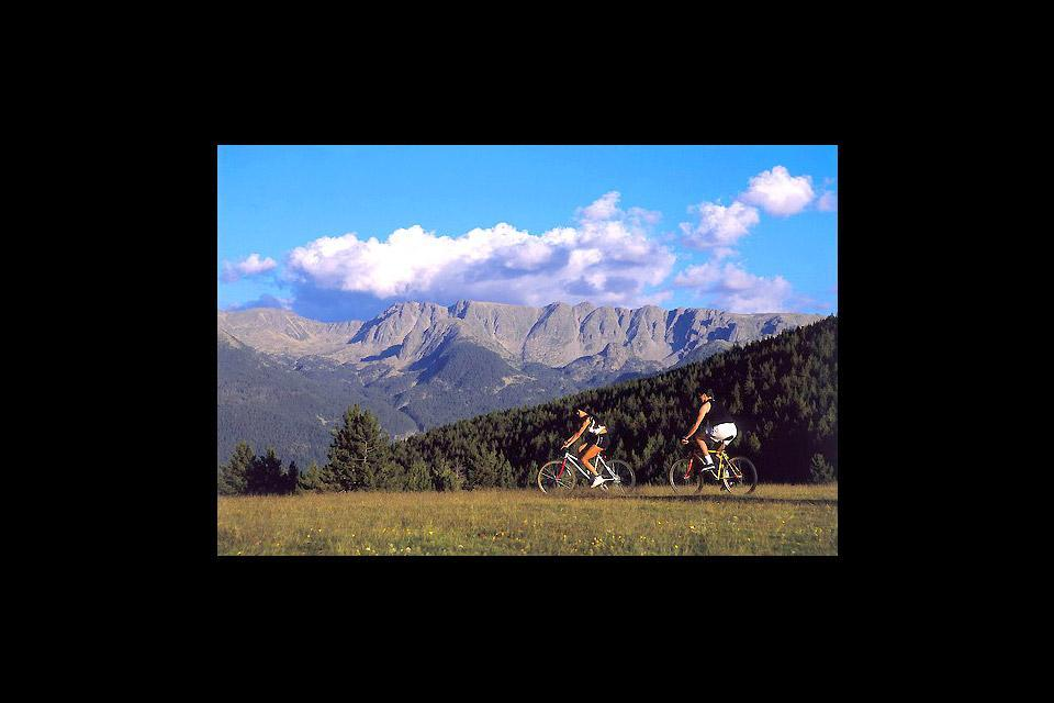 Les randonnées , Les randonnées à vélo , Andorre