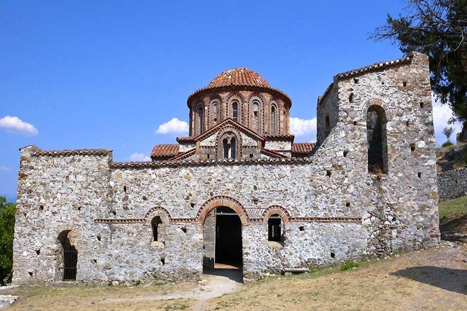 La cité byzantine de Mystra , La déesse Mystra , Grèce