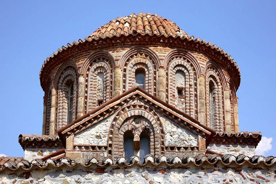 La cité byzantine de Mystra , La forteresse de Mystra , Grèce