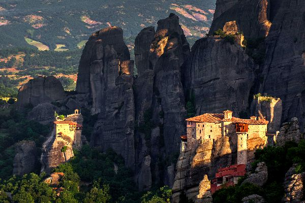 Meteores Monasteries , The monasteries suspended in the sky , Greece