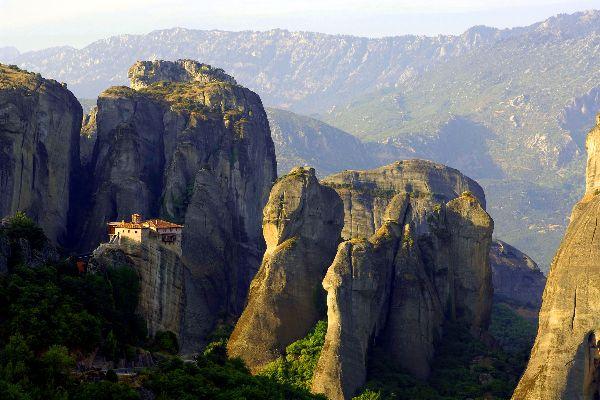 Los monasterios de los Meteoros , El monasterio de Varlaam , Grecia