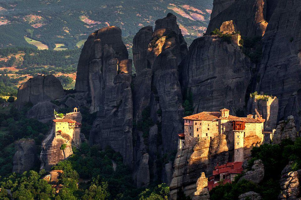 Les monastères des Météores , Grèce