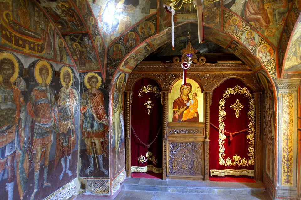 Les monastères des Météores , Le monastère Agios Nikolaos Anapa , Grèce