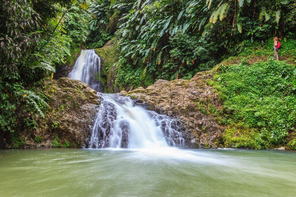 Les paysages, grenade, caraïbes, Antilles, amérique, amérique du nord, forêt tropicale, cascade, chute d'eau, trois soeurs, piscine