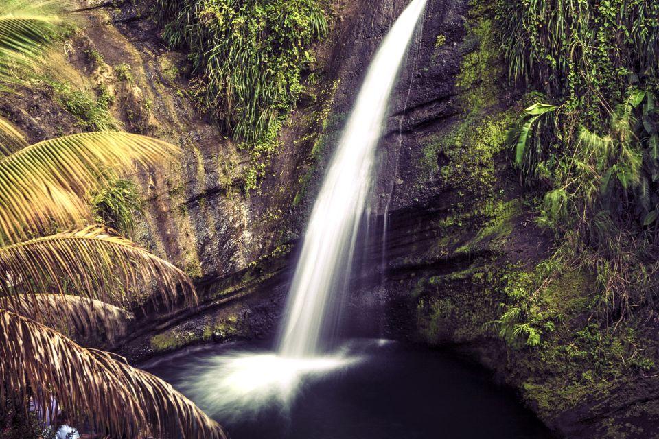 Les paysages, grenade, caraïbes, Antilles, amérique, amérique du nord, forêt tropicale, cascade, chute d'eau, piscine, concorde